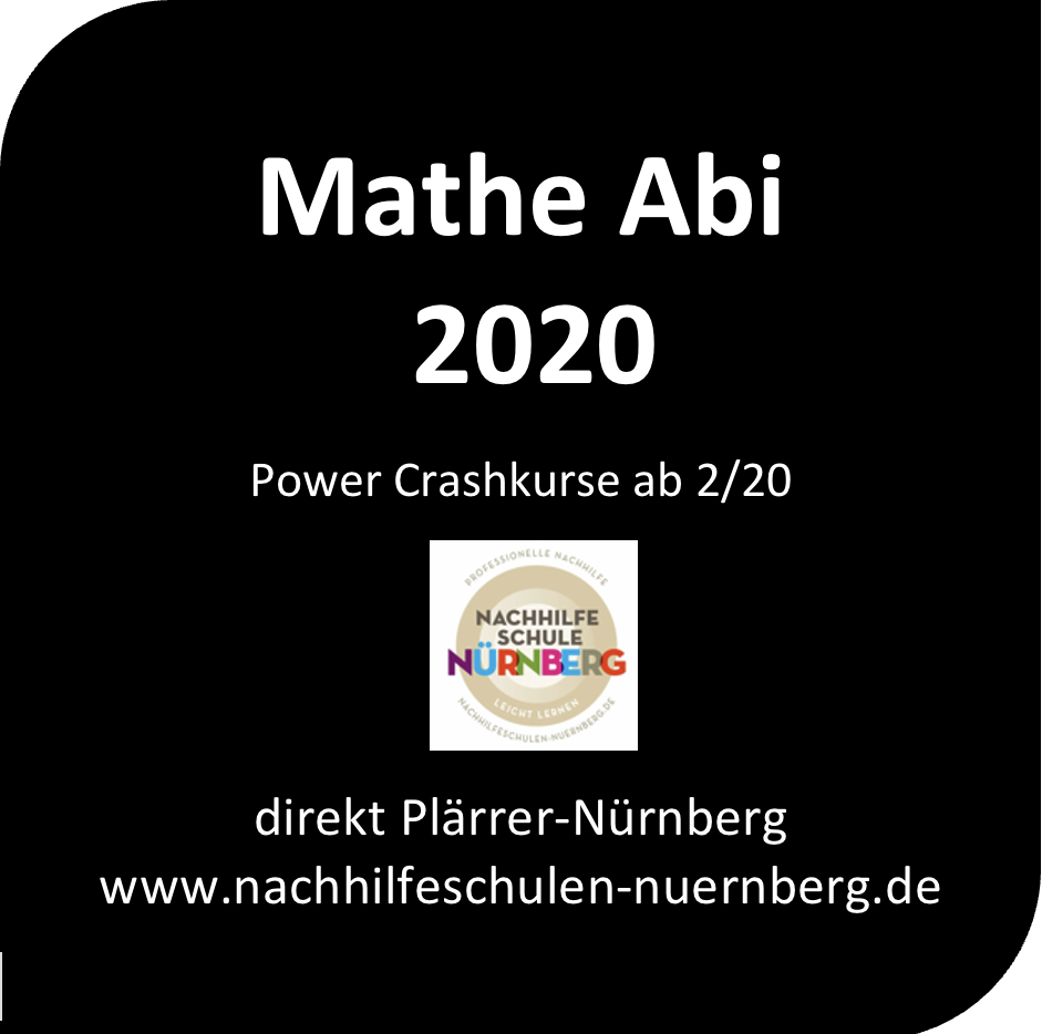 Mathe Abi Training Crashkurse Nürnberg